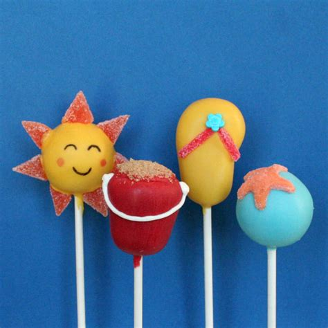 12 best images about pops beach office on pinterest items similar to 12 beach cake pops for summer memorial