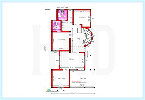 ground floor plan drawing srilankan style home plan and elevation 2230 sq ft