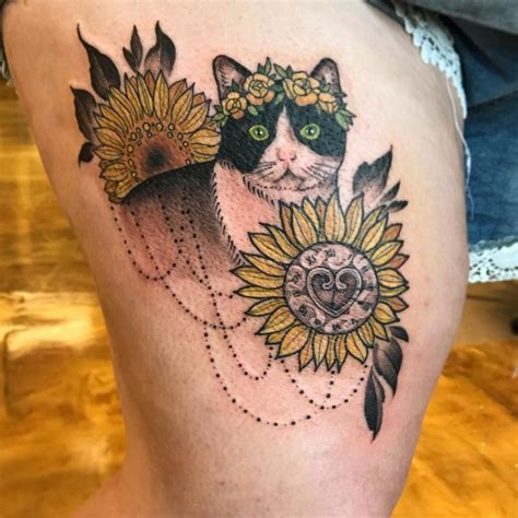 sunflower tattoos tattoo collections