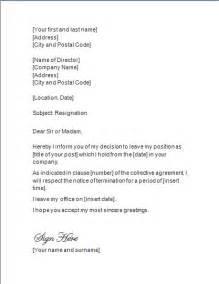 Free Resignation Letter ? Resignation Letter