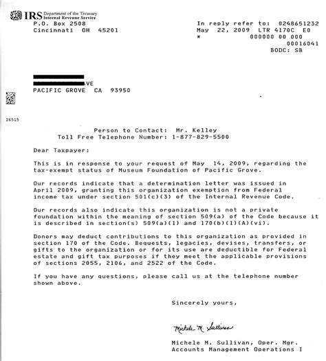 irs certification letter irs letter of determination interlink inc our story inc