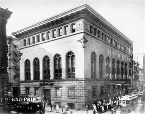 oldest merchant bank in file national bank building pittsburgh c 1909 jpg