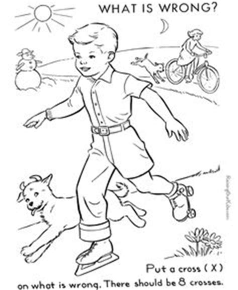 coloring book pages wrong 1000 images about free colouring pages on