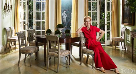 carolina herrera new york dining room fashion designers
