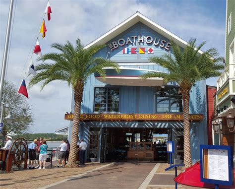 boathouse orlando boathouse seafood restaurant in disney springs right on
