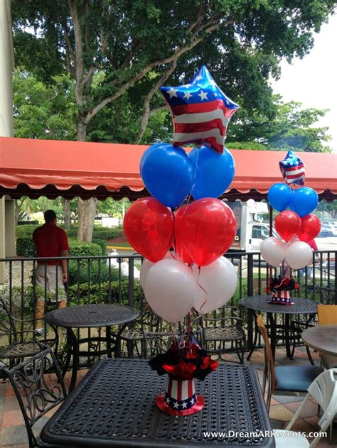 4th Of July Balloon Decorations by Fourth Of July Balloon Centerpiece Www Dreamarkevents