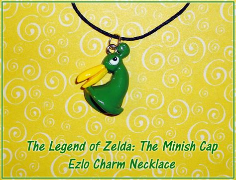 minish cap ezlo charm necklace by yellercrakka