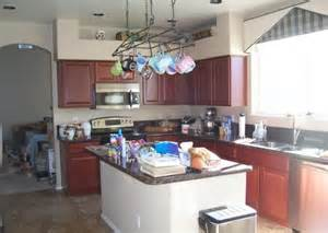 Another Word For Rack Pot Racks Are Hanging Clutter House Photos