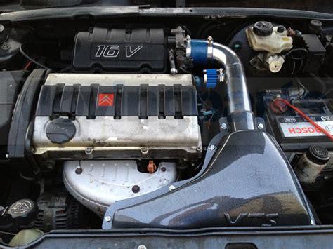 do car induction kits work citroen saxo vtr vts carbon air filter intake kit performance induction kit ebay