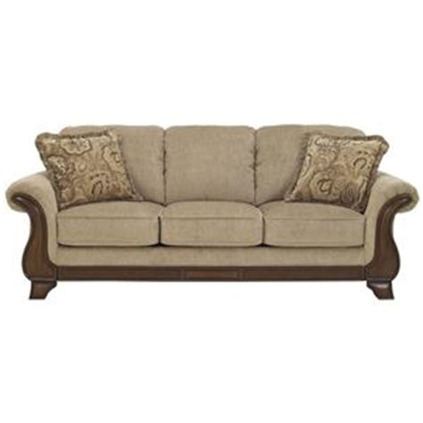 becker furniture world distribution center signature design by lanett loveseat with exposed