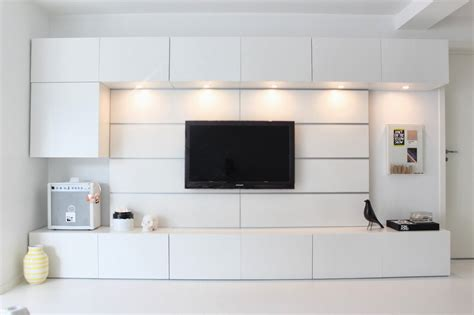 Ikea Wall Units Living Room - villa h partition walls in 2019 ikea living room tv