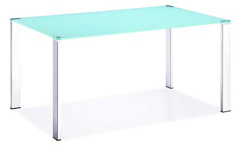 z124 sleek tempered glass top dining table modern dining