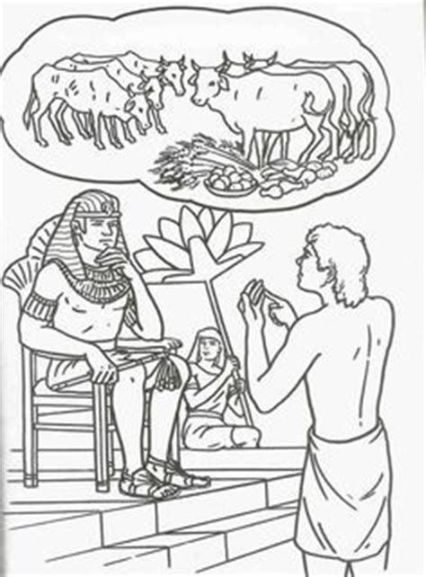 skinny cow coloring page joseph and potiphar s wife picture of bible pinterest