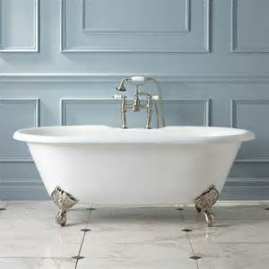 bathtub with feet clawfoot tub accessories signature hardware