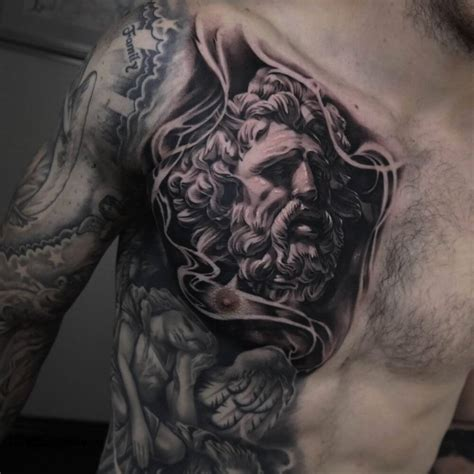 best chest tattoos the 100 best chest tattoos for improb