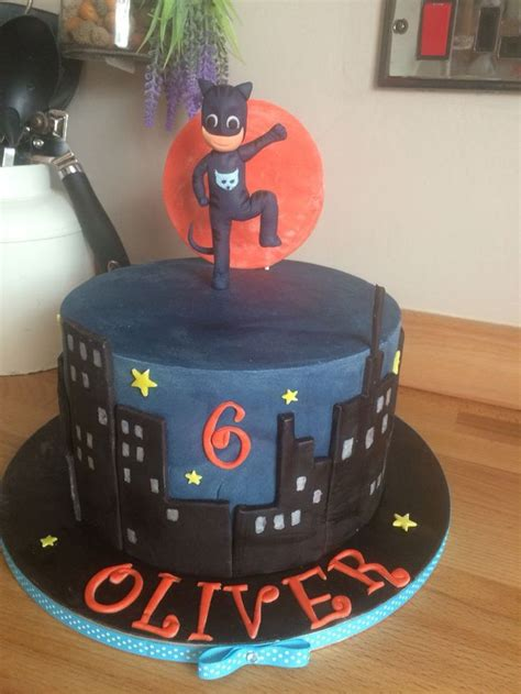 Cat Boy Pj Masks Cake  Ee  Birthday Ee   Cakes In   Ee  Birthday Ee