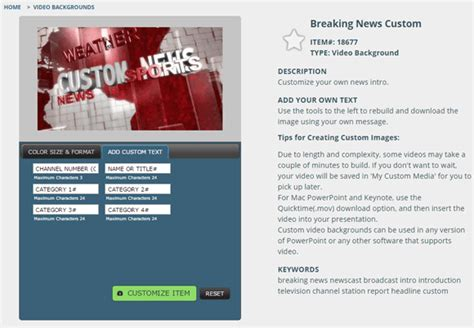 breaking news powerpoint template breaking news video background for powerpoint