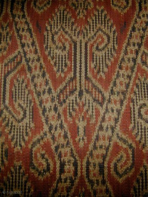 Borneo Ikat borneo s warp ikat skirt kain kebat iban