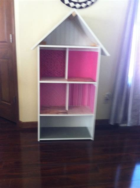 house diy made from a bookshelf diy ideas how