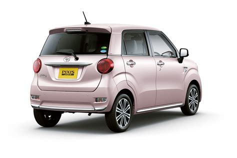 Where Is Toyota From Toyota Goes Retro With Pixis Kei Cars In Japan 50 Pics