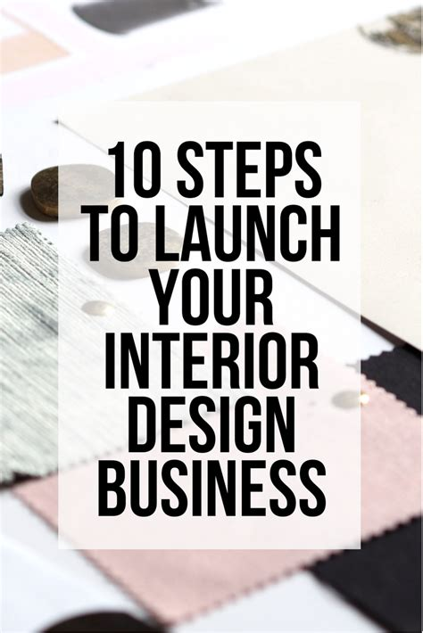 steps  launch  interior design business sarah