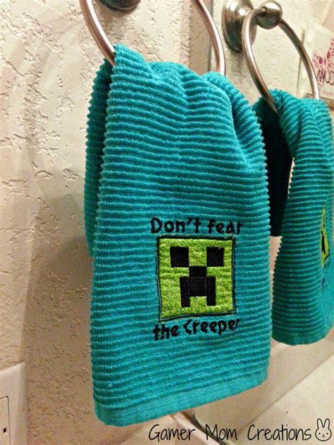 minecraft bathroom accessories minecraft inspired creeper bathroom or from