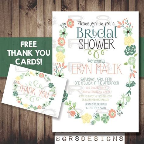 free printable thank you cards vintage floral bridal shower invitation free thank you cards