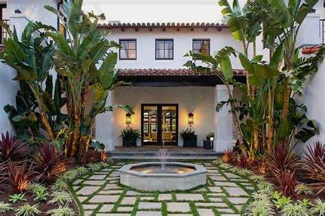 spanish style house plans with interior courtyard long distance decor courtyards spanish spanish