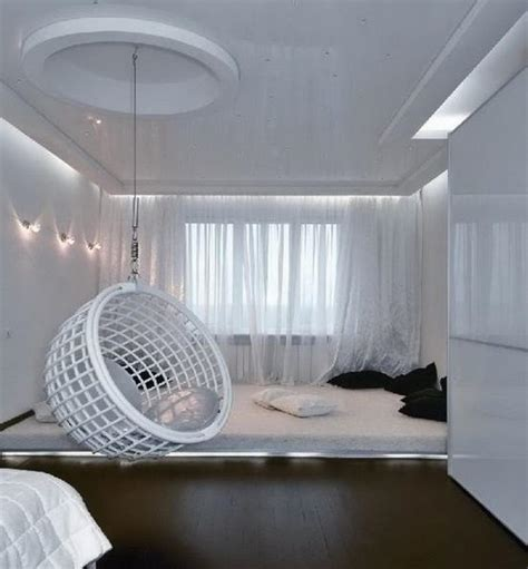 ceiling hanging chairs for bedrooms white hanging ceiling egg chair