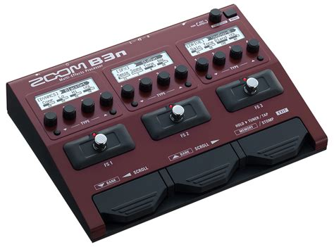 Multi Fx b3n multi effects processor zoom