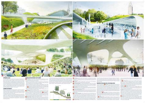 design concept competition union terrace gardens city garden aberdeen e architect