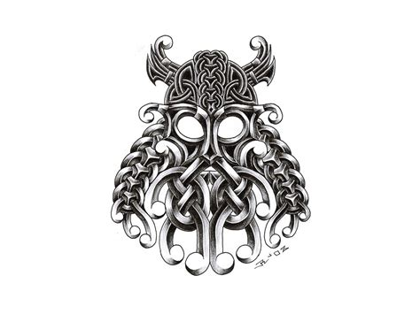 23 tattoo design 23 unique viking designs
