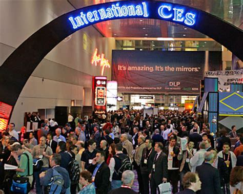 ces   annual global technology event held  las