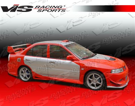 Bodykit Mirage Sport Style mitsubishi mirage 4dr evo 8 style side skirts 97 98 99 00 01