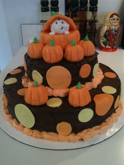 Fall Themed Baby Shower Cakes autumn themed baby shower cake cakes cupcakes and