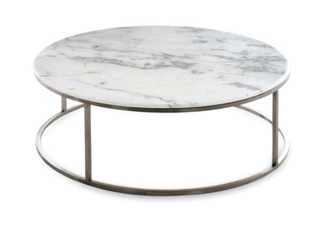Great Outdoor Concept with Round Marble Coffee Table