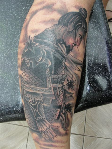 samurai mask tattoo japanese samurai