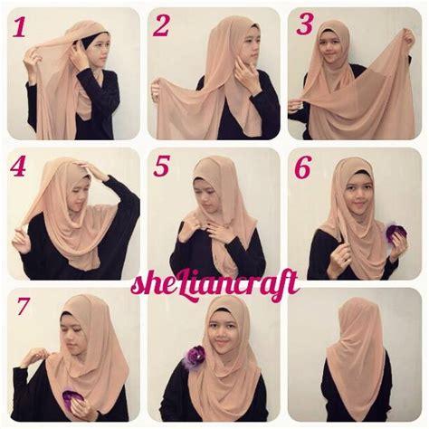 tutorial penggunaan pashmina penggunaan hijab sesuai bentuk wajah tutorial pashmina