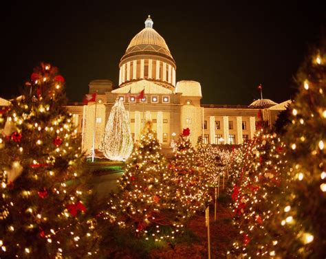 christmas events in little rock and central arkansas