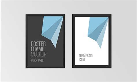 25 free psd poster flyer mockups