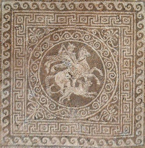 mosaic floor l fichier olynthos mosaic floor jpg wikip 233 dia