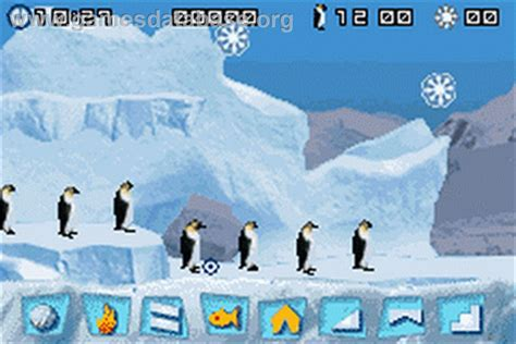 Kaset Gameboy Advance March Of The Penguins march of the penguins nintendo boy advance