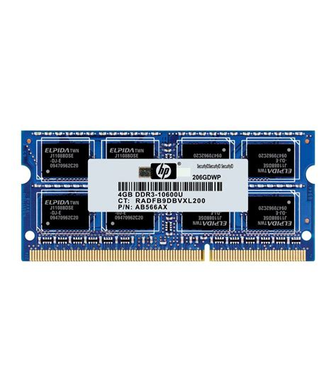 Ram 4gb Ddr3 Laptop Hp hp laptop ddr3 sdram 4 gb 1333 mhz buy hp laptop ddr3 sdram 4 gb 1333 mhz at low