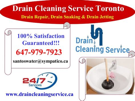Drain Cleaning Company Drain Cleaning Service In Toronto 100 Guaranteed