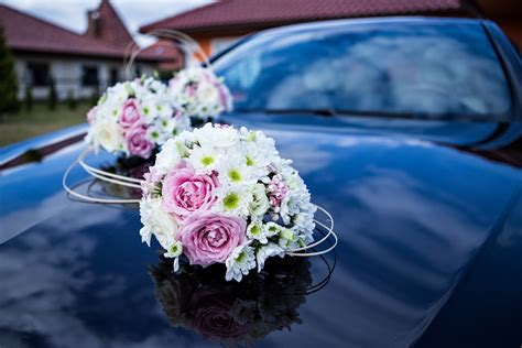 Wedding Car Bouquet by Free Images Plant Petal Flowers Ceremony Floristry