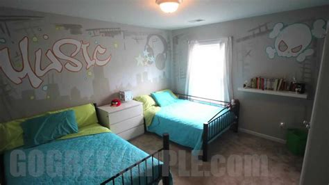 bedroom songs kids bedroom makeover music theme ideas quot how to quot mural green apple painting youtube