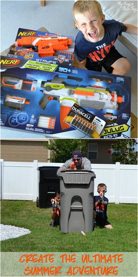Backyard Nerf Create The Ultimate Summer Adventure With A Nerf Toys