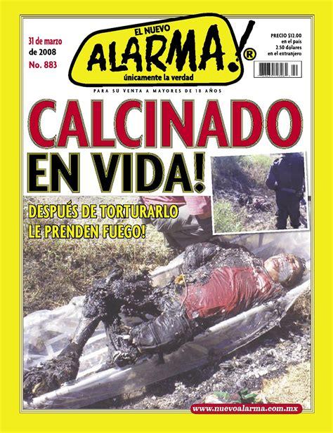 imagenes fuertes revista alarma revista alarma magazine alarma by jossgoree issuu