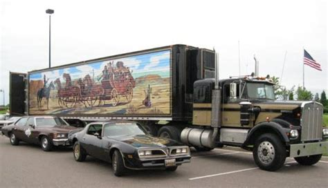 film semi x3 iconic movie cars smokey and the bandit 1976 pontiac