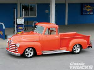 1952 chevrolet five window truck classic trucks magazine
